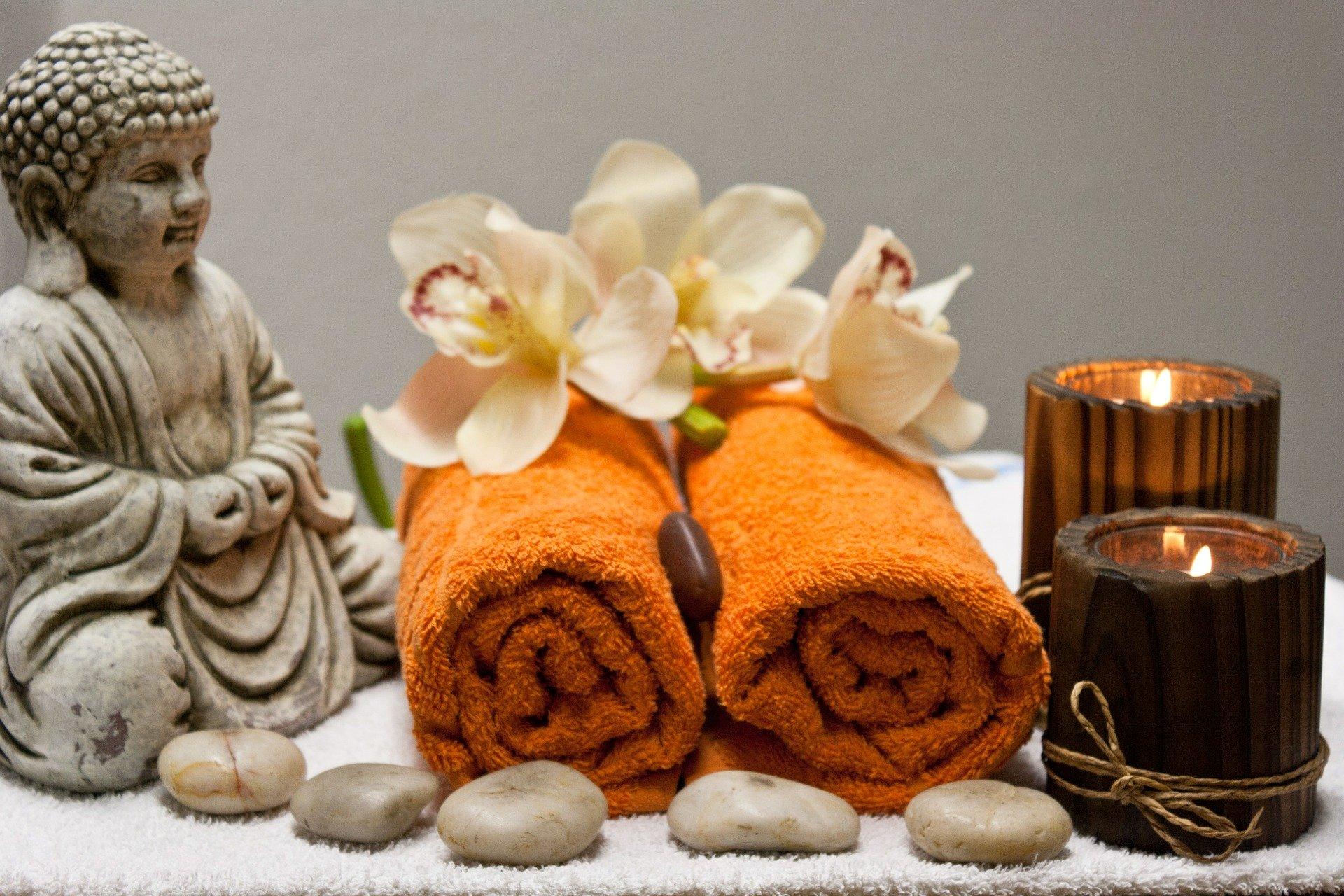 Massagen sind gut für die Gesundheit und reduzieren Stress.