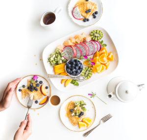 Frühstücksideen die gesund sind.