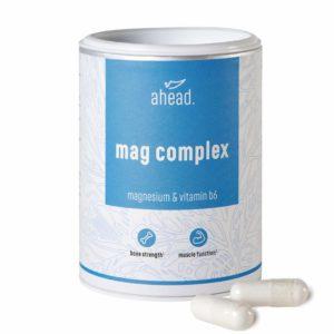 Nahrungsergänzungsmittel Magnesium von Ahead